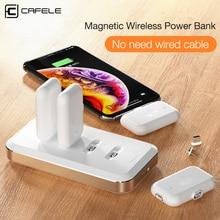 Cafele magnetyczny mini powerbank dla iPhone kabel Micro USB typu C w nagłych wypadkach zewnętrzna bateria dla iPhone Xiaomi Huawei przenośna ładowarka