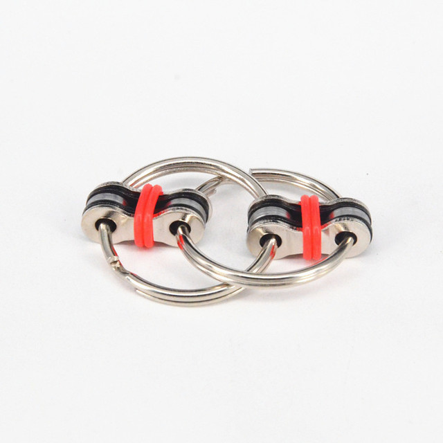 Key Ring Hand Spinner