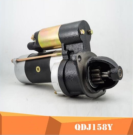 Fast Shipping starting motor QDJ158Y 12V 2.8KW 3.4KW 11 tooth diesel engine starter motor a suit for chinese brandFast Shipping starting motor QDJ158Y 12V 2.8KW 3.4KW 11 tooth diesel engine starter motor a suit for chinese brand
