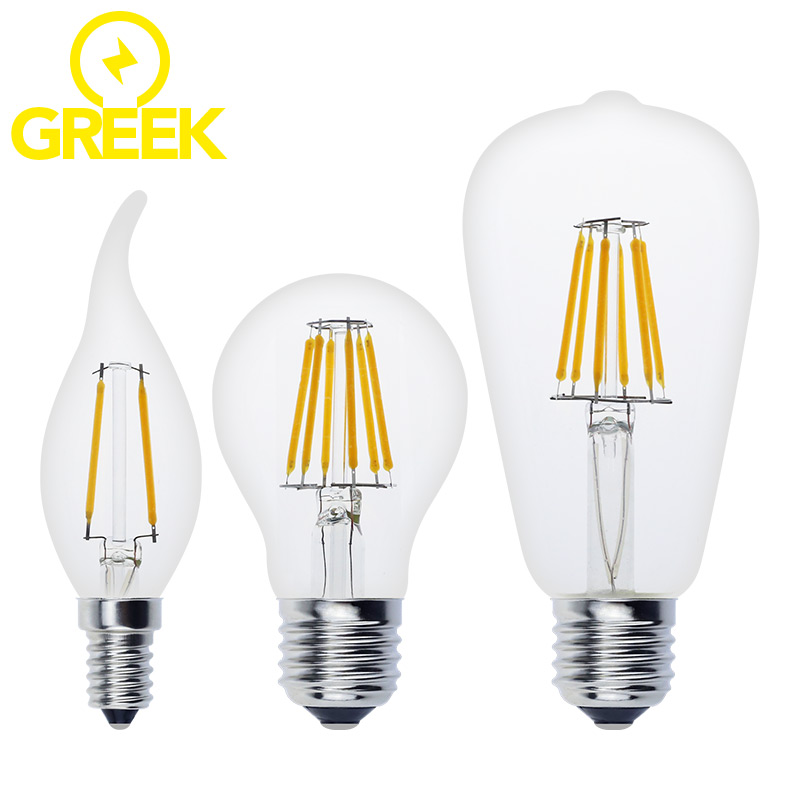quality antique led edison bulb e27 e14 vintage led bulb lamp 220v retro led filament light. Black Bedroom Furniture Sets. Home Design Ideas