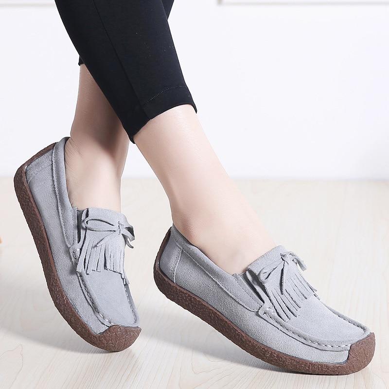 Fondo Gamuza Tendón E Invierno gray De Vaca black1 red1 Músculo Arco rojo Otoño 2019 Zapatos apricot gris Mujer apricot Negro 8wq5zz