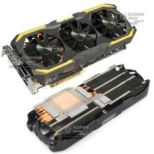 مبرد أصلي جديد لـ ZOTAC GTX1070 GTX1080 GTX1070Ti AMP المتطرفة بطاقة جرافيكس فقط مروحة مع بالوعة الحرارة