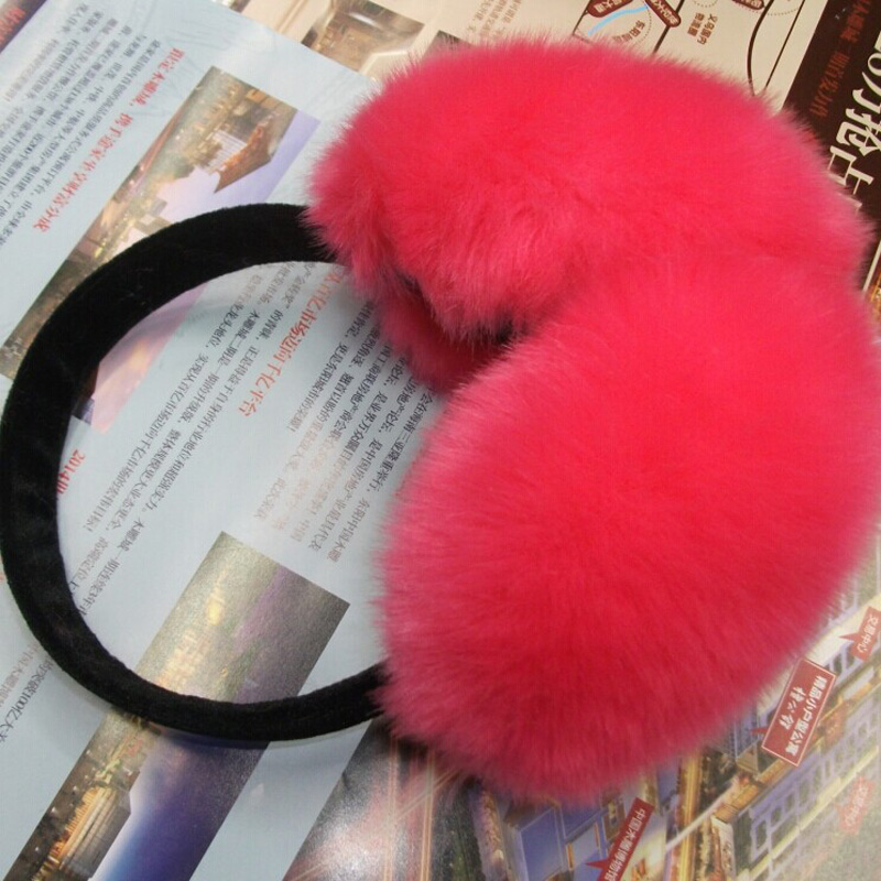 2016 NEW Fashion Folding Earmuffs Men And Women's Warm Autumn Winter Fox Fur Earmuffs Multicolor Wholesale