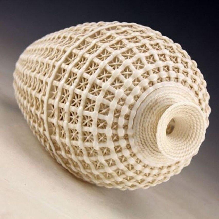Uitgebreide Vintage handwerk Chinese Dehua porseleinen uitgehold - Huisdecoratie - Foto 2