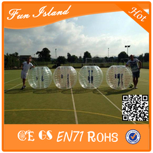 Free Shipping TPU 1.5m Diameter Loopy Ball ,Inflatable Bumper Ball, Body Zorbing Bubble Ball,Human Hamster Ball