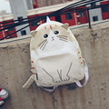 New Children school backpack for boys girls school bags Funny personality cartoon cat shoulder bag casual travel bag mochilas