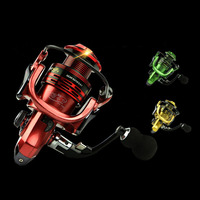 WALK FISH All metal Arm 13+1BB Spinning Fishing Reel EVA Handle Fishing Reels 1000 7000 Series Gapless Metal Head Spinning Wheel|spinning wheel|fishing reel|handle fish -