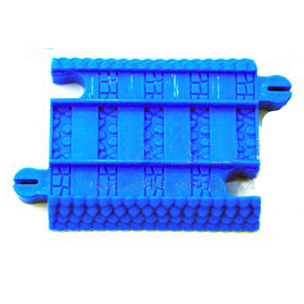 D1061 Free shipping hit a quarter for short straight rail accessories electric railway Thomas the train track 2pcs/lot