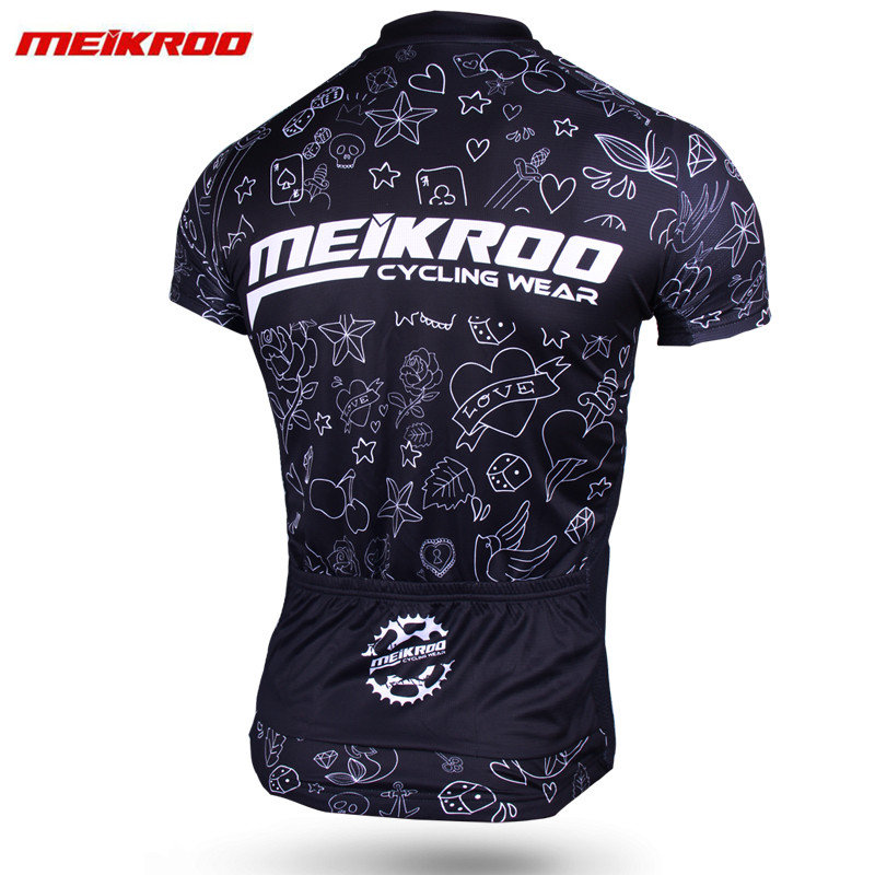 Meikroo S Sleeve Cycling Jersey Set MTB Bike Clothing Comfortable Bicycle Jerseys Clothes Quick Dry Pro Road Bike Jersey