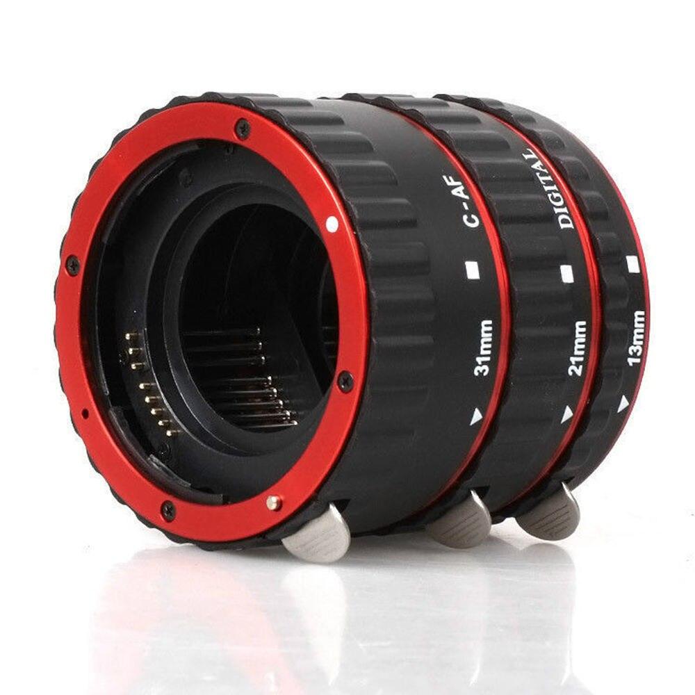 JINTU Mise Au Point Automatique AF Macro Extension Tube Anneau pour Canon EF-S Objectif pour Canon EOS 450D 550D 650D 750D 800D 1200D 1300D 60D 70D 80D
