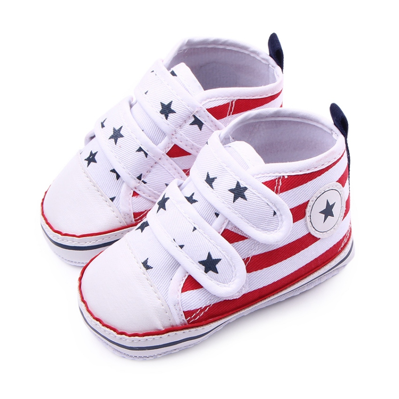 Baby Shoes Toddler Boys Girls Soft Sole Shoes Anti-slip Sneakers Prewalker Shoes 0-1 Y New