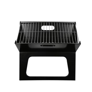 Portable Outdoor Charcoal Grill BBQ Folding Stainless Steel Thicken Cooking Picnic Camping Collapsible Grill