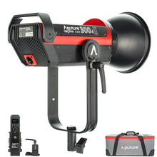Aputure LS C300d 2 300d II LED ضوء الفيديو COB ضوء 5500K ضوء النهار بونز في الهواء الطلق استوديو ضوء التصوير الفوتوغرافي الإضاءة ل يوتيوب