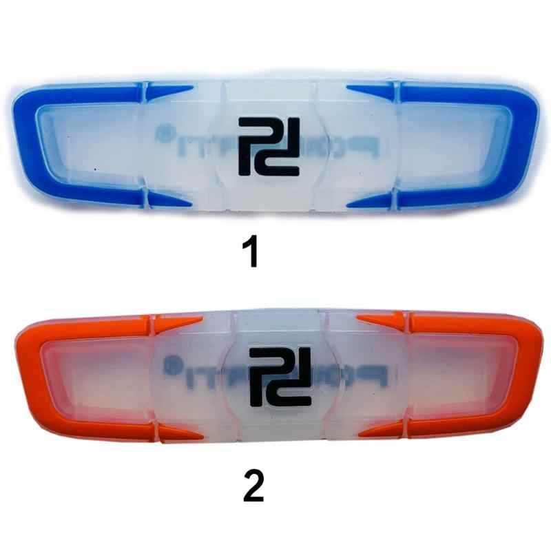 2 PC Transparent Anti-skid Vibration Dampers Indoor Soft Silicone Rubber Shock Absorber Reduce Shock for Tennis Racquet