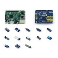 RPi3 B Package D Newest Raspberry Pi 3 Model B Development Kits RPi Expansion Board