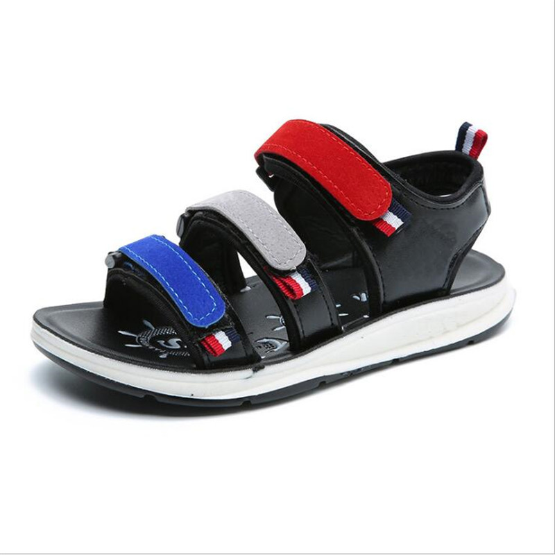 2018 Summer Boys Shoes Breathable Child Sandals Child Baby Non-slip Sandals