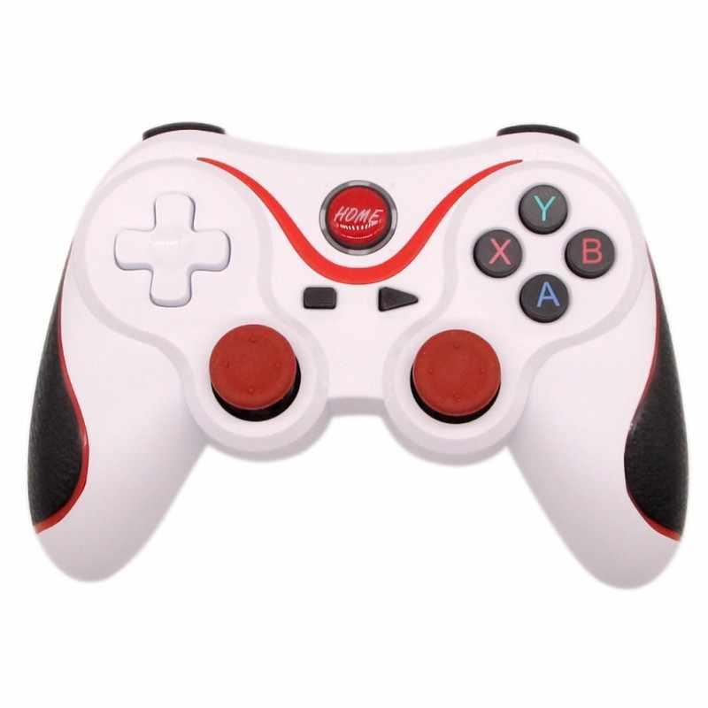 新ワイヤレス Bluetooth 3.0 ゲームコントローラテリオス T3/X3 ため PS3/アンドロイド Pc Tv ボックス holderT3 リモートゲームパッド