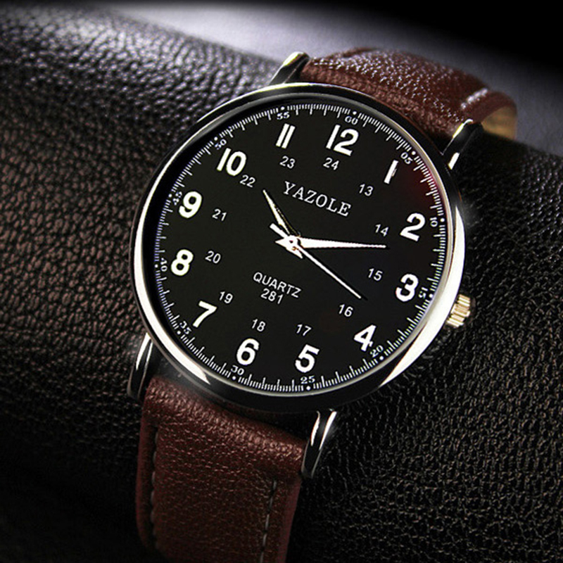 Men Sport Watches 2019 New Business Quartz Watch Men Top Brand Luxury Famous Leather Wristwatch For Male Clock Relogio Masculino in Quartz Watches from Watches