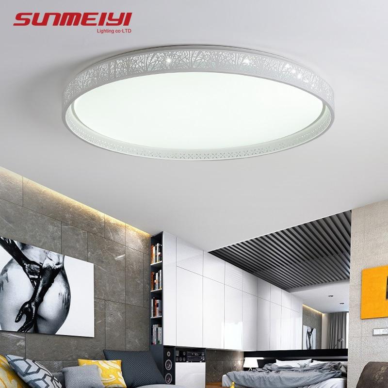 Deckenleuchten & Lüfter 2017 Neue Slim Wichtigsten Schlafzimmer Lampe Led-deckenleuchte Moderne Minimalistische Kreisförmige Wohnung Wohnzimmer Deckenleuchten Zl429