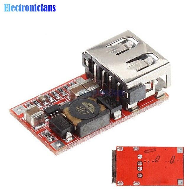 5 шт. 6-В 24 В 24 В 12 В до 5 В 3A USB зарядное устройство понижающий модуль DC-DC понижающий преобразователь автомобильный блок питания понижающий модуль