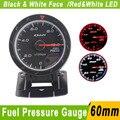Fuel Pressure Gauge 60mm With Sensor Defi CR Car Fuel Pressure Meter 60mm  White LED Defi Fuel Pressure Gauge Press Auto Gauge