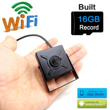 ip camera wifi 720p mini wireless micro sd card 16G home smallest cam hd cctv security surveillance p2p wi fi camara JIENU