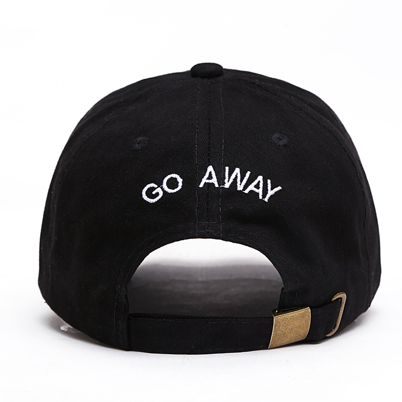 2017 new brand cap Go Away Dad Hat 100% Cotton hip hop snapback Baseball Cap For Men And Women Dad hats Casquette