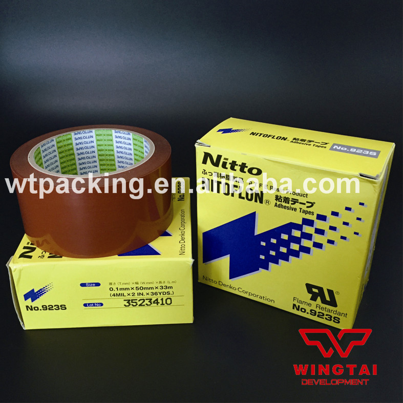 Excellent Original 3 Pcs 923S Japan Nitto Denko Nitoflon PTFE Adhesive Tape T0.10mm*W50mm*L33m