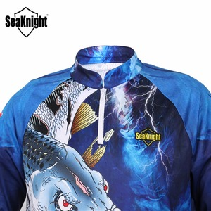Image 5 - Seaknight Vissen Kleding SK004 Lange Mouwen L Xl Xxl Xxxl Xxxxl Zomer Sneldrogende Ademend Anti Uv Zon Bescherming T shirt