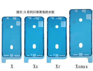 Image 3 - 10 teile/los Original Wasserdichte Aufkleber Für iPhone X XS XR XS MAX LCD Bildschirm Band 3 mt Adhesive Kleber Reparatur teile