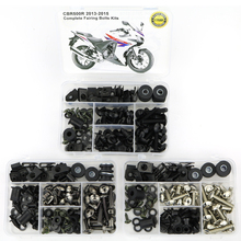 все цены на For HONDA CBR500R 2013 2014 2015 Motorcycle Covering Complete Full Fairing Bolts Kit OEM Style Steel Screws Fairing Clips Nuts