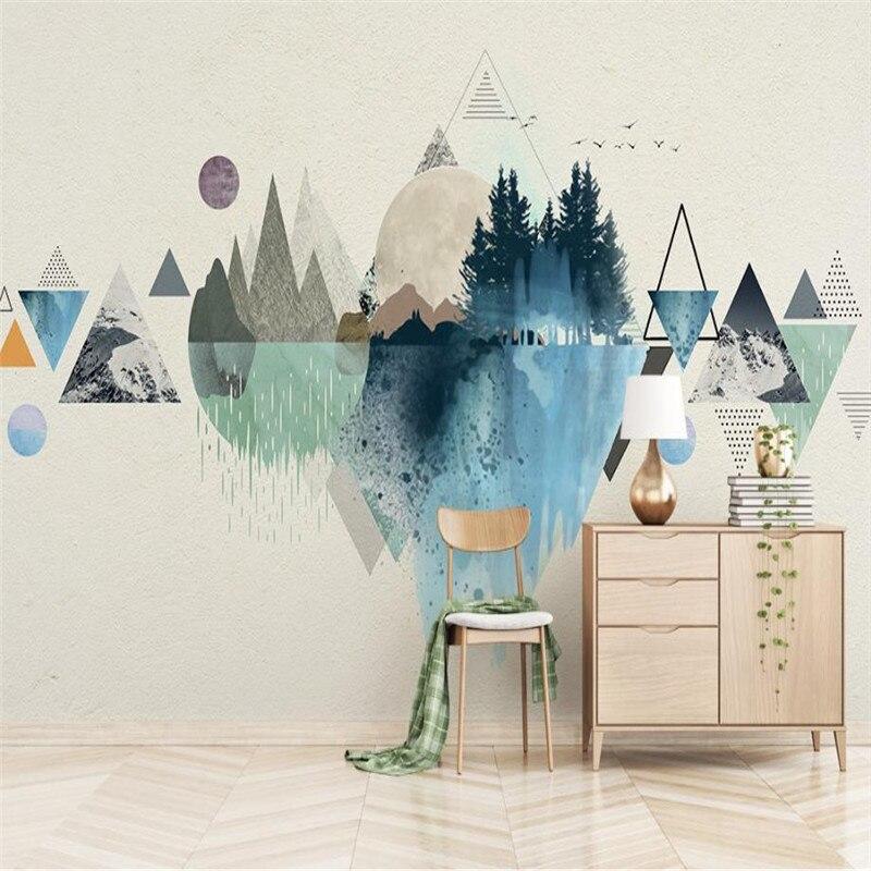 Papel pintado paisajes free bosque paisaje rboles papel - Papel pintado paisajes ...