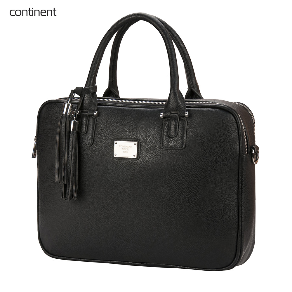 Фото - Laptop Bags & Cases Continent CONCM182BK for laptop portfolio Accessories Computer Office for male female 2017 hot handbag women casual tote bag female large shoulder messenger bags high quality pu leather handbag with fur ball bolsa