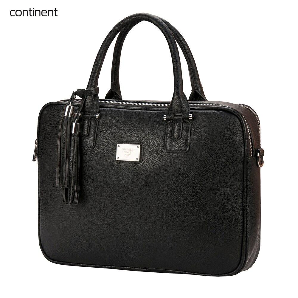 Laptop Bags & Cases Continent CONCM182BK for laptop portfolio Accessories Computer Office for male female computer accessories