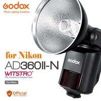 Godox AD360II N TTL 360W GN80 2.4G HSS Powerful Speedlite Flash for Nikon DSLR D800 D810 D750 D300 D700 D80 D90 D750 D300 Camera