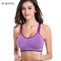 B.BANG 2017 Summer Women Seamless Bra Push Up Bras Padded Top Adjustable Y-line Straps Underwear Free Shipping