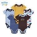 10 Estilo 5 pçs/lote Primavera Recém-nascidos Bodysuits Corpo Do Bebê Do Algodão Do Bebê Manga Shor Próxima Infantil Menino & Da Menina Roupas