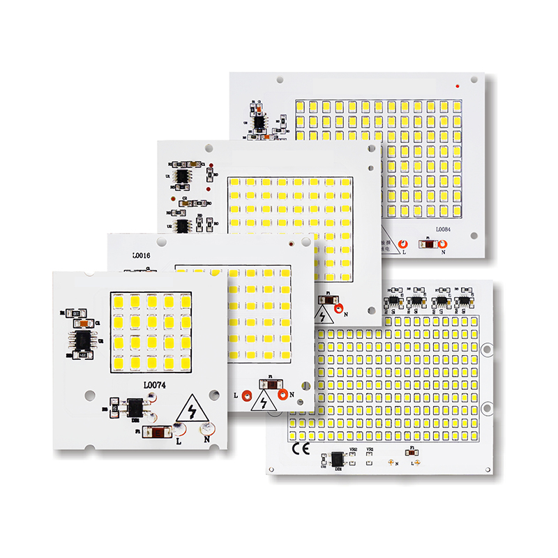 SMD LED Lamps Chip Smart IC AC 220-240V 10W 20W 30W 50W 100W DIY Untuk Outdoor FloodLight Spotlight Garden Cold White Warm White