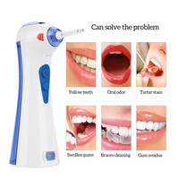 3 Modes Electric Oral Irrigator Dental Water Jet Flosser Teeth Whitening Deep Cleaning Gums Massage Floss With 2 Nozzles P43