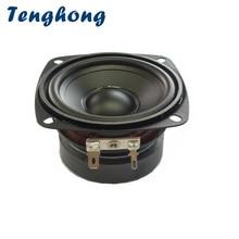 Tenghong 1 stücke 3 Zoll Wasserdichte Lautsprecher 4/8Ohm 15W Tragbare Audio Full Palette Lautsprecher Einheit Outdoor Lautsprecher bluetooth Lautsprecher