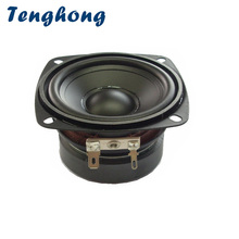 Tenghong 3Inch Waterproof Speakers 4/8Ohm 15W Portable Audio Full Range Speaker Unit Outdoor Loudspeakers Bluetooth Speaker DIY 2pcs new aucharm 8f 1 8inch full frequency speaker driver unit casting aluminum frame wool leather surround 8ohm 20w d210mm