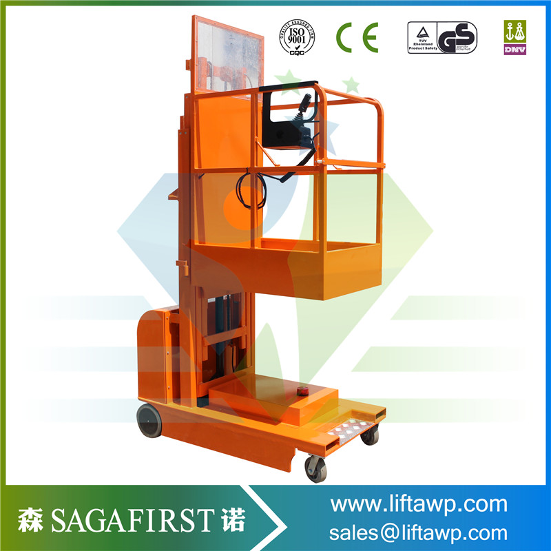 Mobile Self Propelled Electric Lifting Order Picker