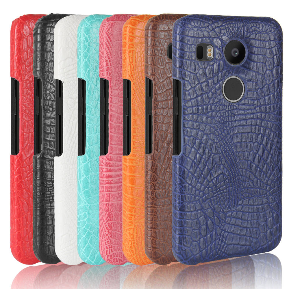 Telephone Case for LG Nexus 5X Nexus5X H790 Hard PC Protective Phone Cover Coque for LG Nexus X5 H 790 798 791 791F Leather Case