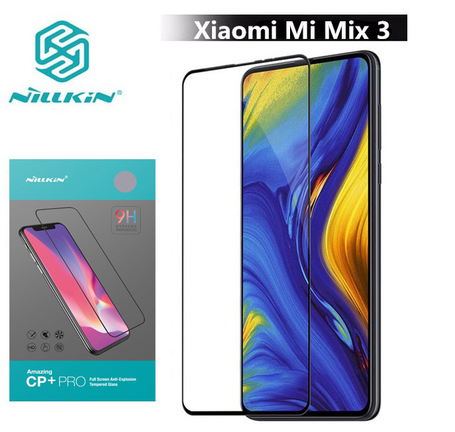 Nillkin Tempered-Glass Protective Xiaomi Full-Screen-Cover For Mi-Mix/3-Mix3 Oleophobic