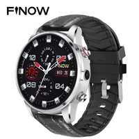 Finow X7 4G SmartWatch 1.39 inch AMOLED 400*400 Display GPS/GLONASS Quad Core 16GB 600mAh Hybrid Leather Strap Smart Watch Men