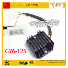Rectifier regulator GY6 125cc RSZ JOG scooter accessories free shipping