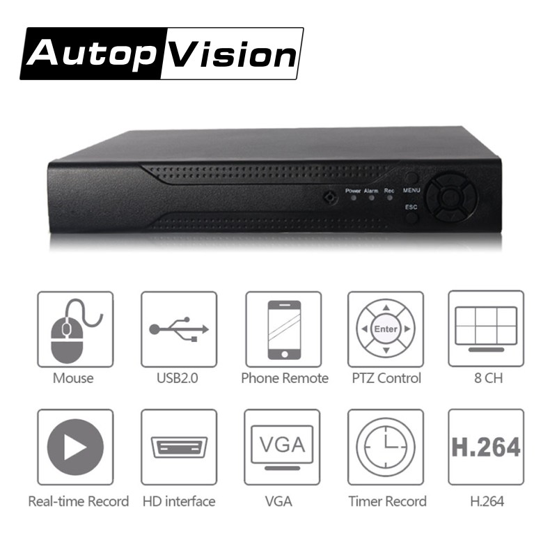 LS-H8 hot 2mp 8ch 3 in 1 ahd hybrid dvr ahd Style and Support Motion Detection Alarm and Email Alarm Special Features ahd dvr murakami h 1q84 books 1 2 and 3