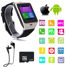 Gv18 smart watch android bluetooth sport schrittzähler kamera fitness armband touchscreen smartwatch handy pk gt08 u8 q18
