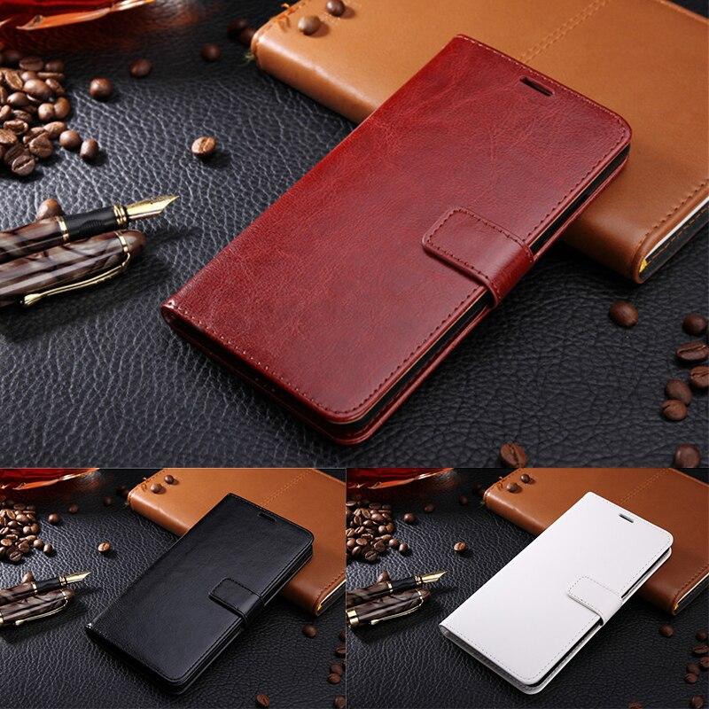 Para lenovo k5 note coque caso tirón de la carpeta de cuero de lujo para lenovo