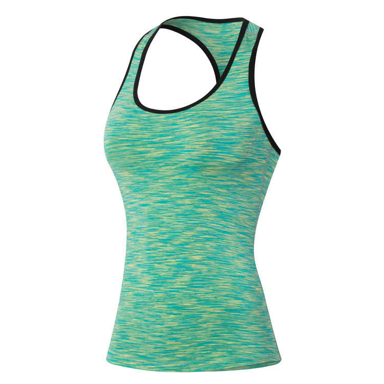 Women's Sport Tank Tops Quick Dry Breathable Sleeveless Running Clothes Gym Fitness Jogging Elastic Singlet Vest